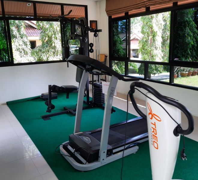 BaanSaensook-Villas-gym-fitness-Koh-Samui-Thailand